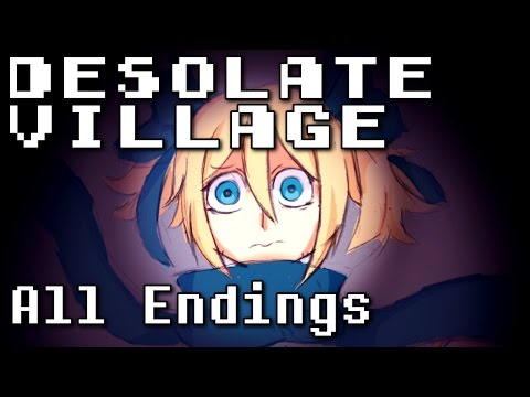 Desolate Village -  Twisted Animal Crossing (ALL ENDINGS) Manly Let's Play