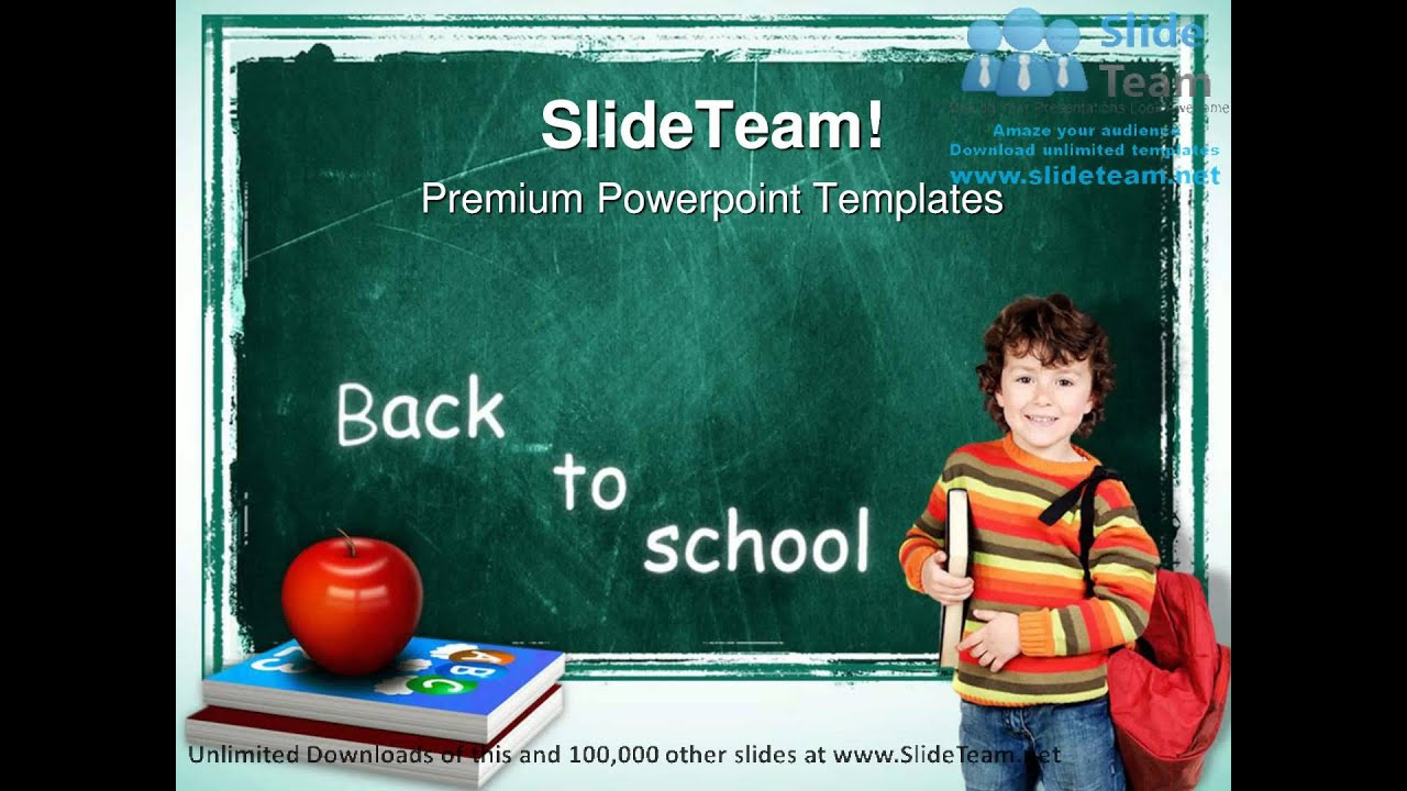 Back to School PowerPoint Templates Free