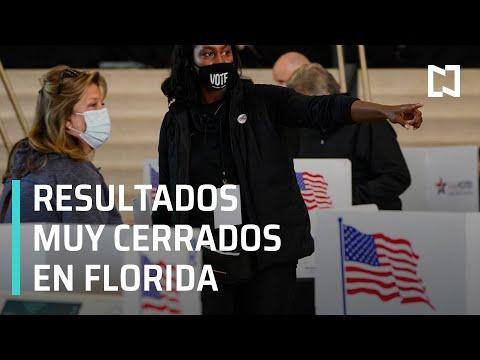 Elecciones en Estados Unidos: Reportan resultado cerrado en Florida - Las Noticias