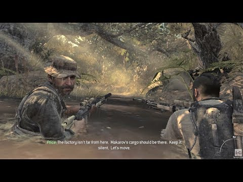 Searching for Makarov's Cargo - Stealth Mission - Back on the Grid - Call of Duty: Modern Warfare 3