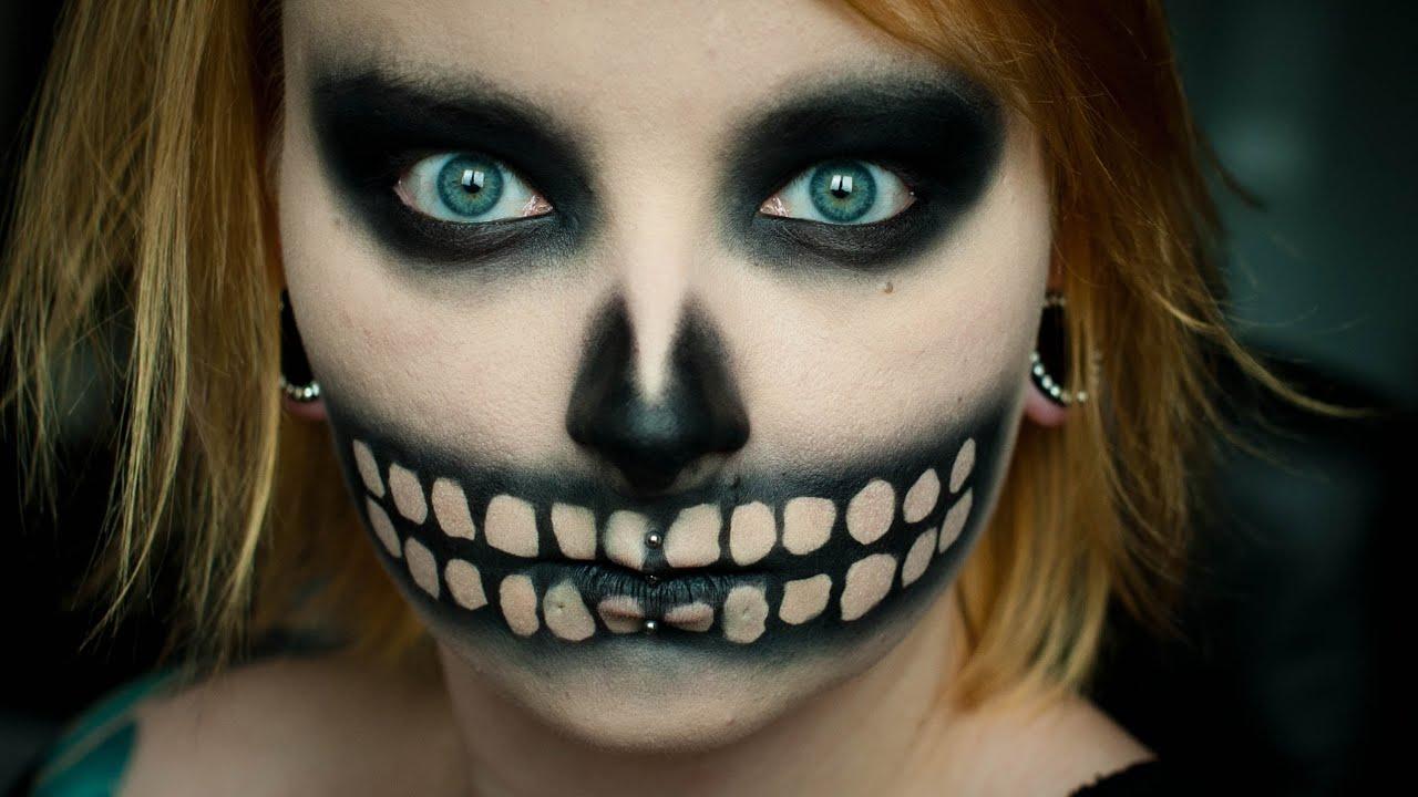 Szybka łatwa Czacha Na Halloween Red Lipstick Monster