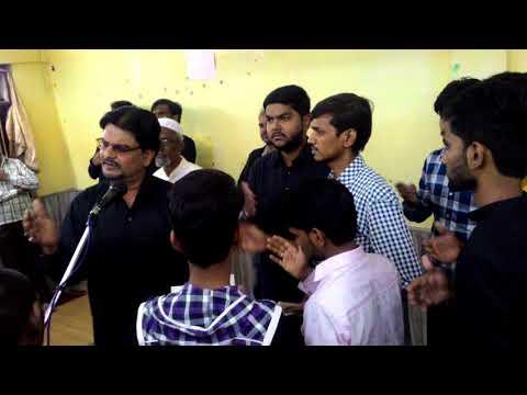 Hussain man hussain wawaila (Nagpur Azadari 21Moharram) Khurshid Ali Monis