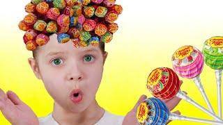Hairstyle Chupa Chups Lollipops con Nicole