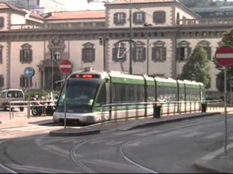 In Tram, Metro, Treno sui binari e nella Storia di Milano