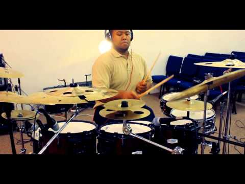 Fred Hammond : Awesome God Drum Cover by Joshua Scott   Shot by MsRKayBee