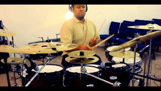Fred Hammond : Awesome God Drum Cover by Joshua Scott | Shot by @MsRKayBee