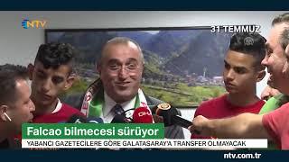 Galatasaray'da Falcao bilmecesi sürüyor
