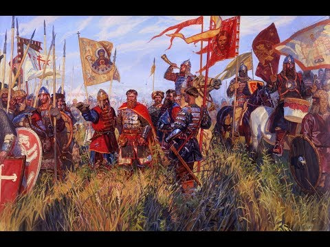 Русская рать против Великого княжества Литовского. Битва в поле XIV век. Часть 2