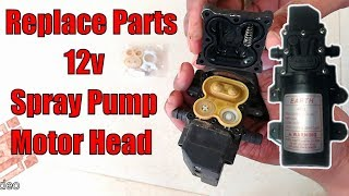 Replace parts agricultural spray pump motor head