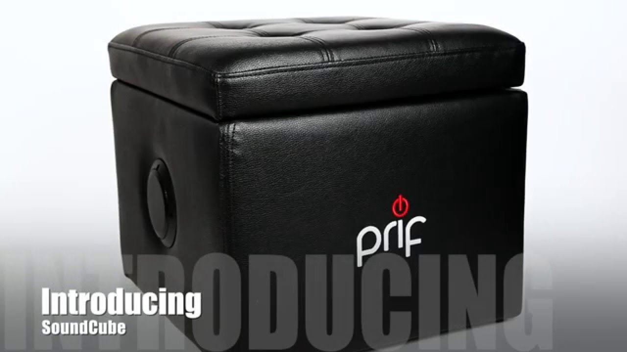 Prif Soundcube Gaming Chair With Sound And Storage