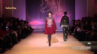Показ    DIL, Ukrainian Fashion Week, Осень Зима   2016 17