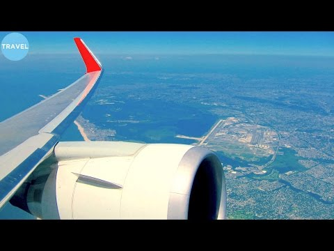 TAM 767-300WL ENGINE VIEW Takeoff from Scenic New York JFK!