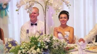 Лучшее поздравление на свадьбу от друга, свадьба  2016, ведущая Олеся устенко, тамада Киев