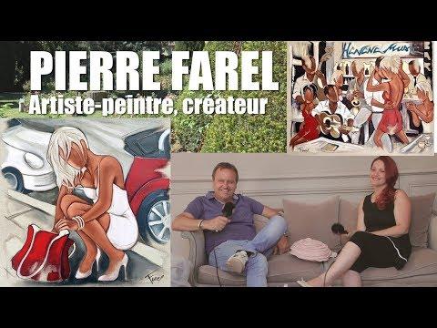 Les RDV Cultur'L   avec Pierre FAREL, artiste peintre et créateur   Juillet 2018