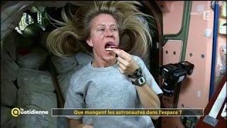 Que mangent les astronautes dans l