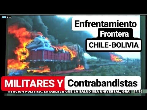 Así Militares y Contrabandistas Se Enfrentan Frontera Chile - Bolivia. Pisiga Oruro  //Informe//
