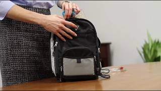 Tube Feeding: How to Use an Enteral Backpack - Shield HealthCare