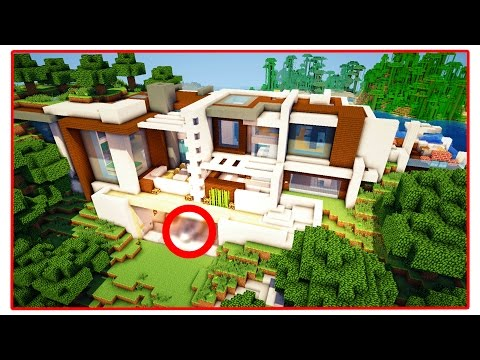 $10,000,000 MODERN MINECRAFT REDSTONE MANSION!