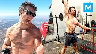 Tim Kennedy Training for Next Fight | Muscle Madness