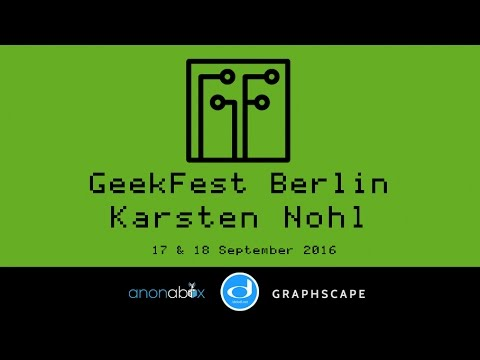 GeekFest Berlin 2016 | Karsten Nohl | SS7 Attack Update and Phone Phreaking