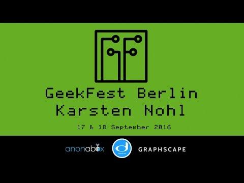GeekFest Berlin 2016 | Karsten Nohl | SS7 Attack Update and Phone Phreaking