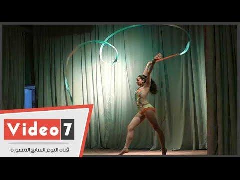 راقصة البالية نورهان خطاب تبهر حضور العرض الخاص لفيلم «فستان ملون»  - 00:21-2017 / 10 / 18