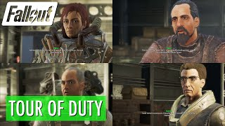 Fallout 4 - Tour of Duty w Sarcastic Dialogues
