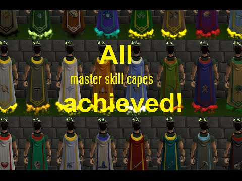 [RS] All master skill capes achieved (level 120)