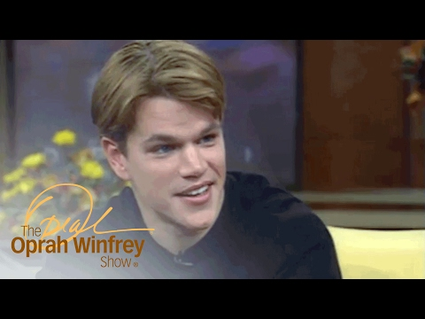 Why Matt Damon Slept On An Air Mattress A Year After Winning An Oscar | The Oprah Winfrey Show | OWN