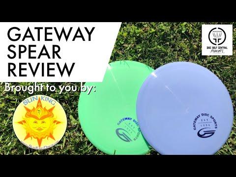 DGCentral Disc Golf Reviews - Gateway Spear Fairway Driver