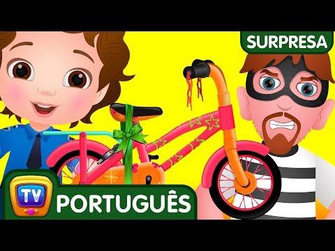 ChuChu TV Policia Ovos Surpresa – Episodio 14 – Os Ladrões De Bicicleta | ChuChu TV