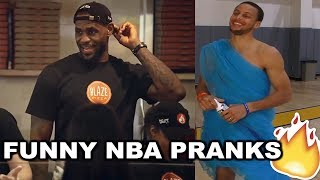 NEW BEST NBA Pranks 2017 Ft. LeBron James, Stephen Curry, James Harden...