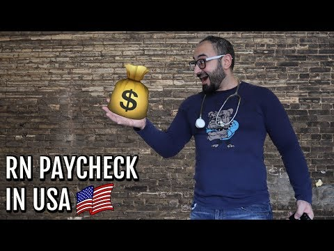 RN 👨🏻⚕️ SALARY 💵 IN USA | HOW MUCH💰 DO I MAKE IN 2 WEEKS