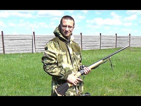 ИЖ-18Е стрельба пулей.