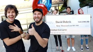 SURPRISING MY BEST FRIEND WITH $60,000!! Video