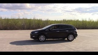 Mazda CX-7.  Замеры после чип-тюнинга. Случаи из жизни.
