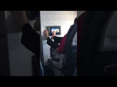 The Love Doctors - Nasty Airline Passenger Uses Feet On Airplane Tablet!