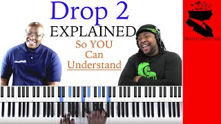 Drop 2 Voicings Demonstrated & Explained Collab with Warren McPherson