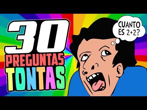30 PREGUNTAS TONTAS SIN RESPUESTA