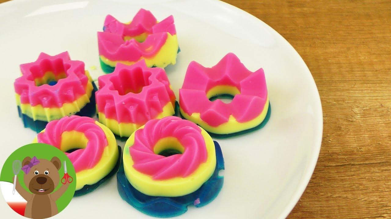 DIY urocze mydełka w kształcie babek | pomysł na prezent | kolorowe mydło
