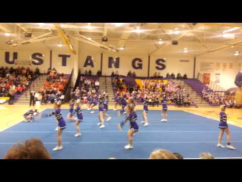 Ihsa cheer sectionals 2nd place rolling meadows