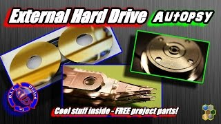 External Hard Drive Autopsy - Salvage Free Project Parts