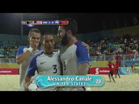 BSC 2017: United States vs Trinidad & Tobago Highlights