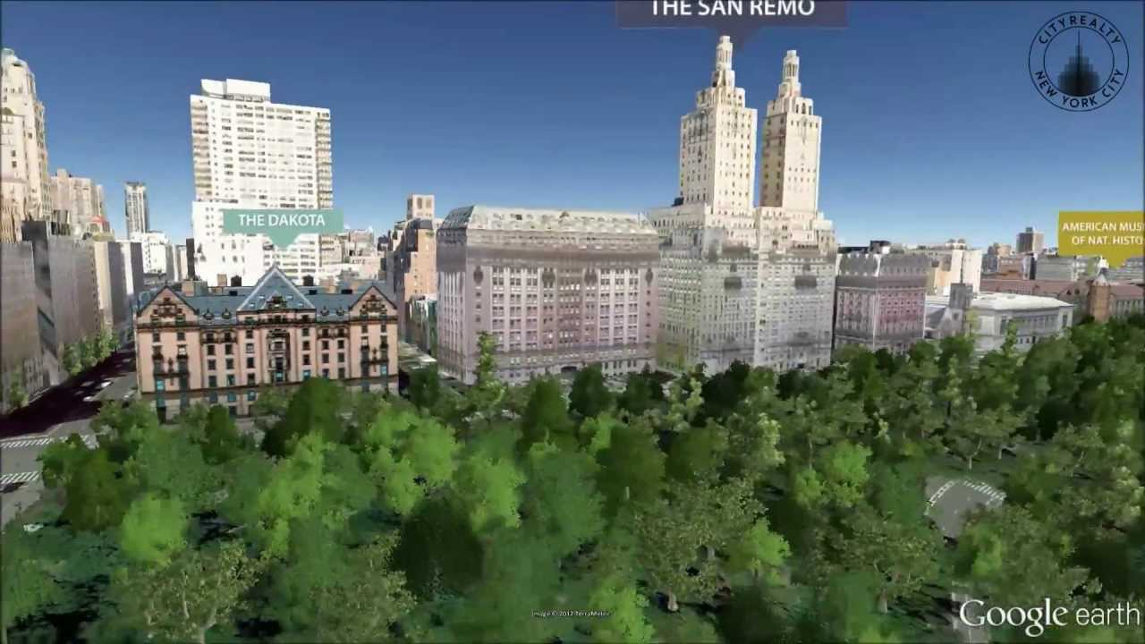 San Remo 145 Central Park West New York NY YouTube