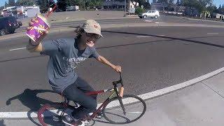 Making Nine 7-Eleven Stops On Free Slurpee Day (Cycle Vlog)
