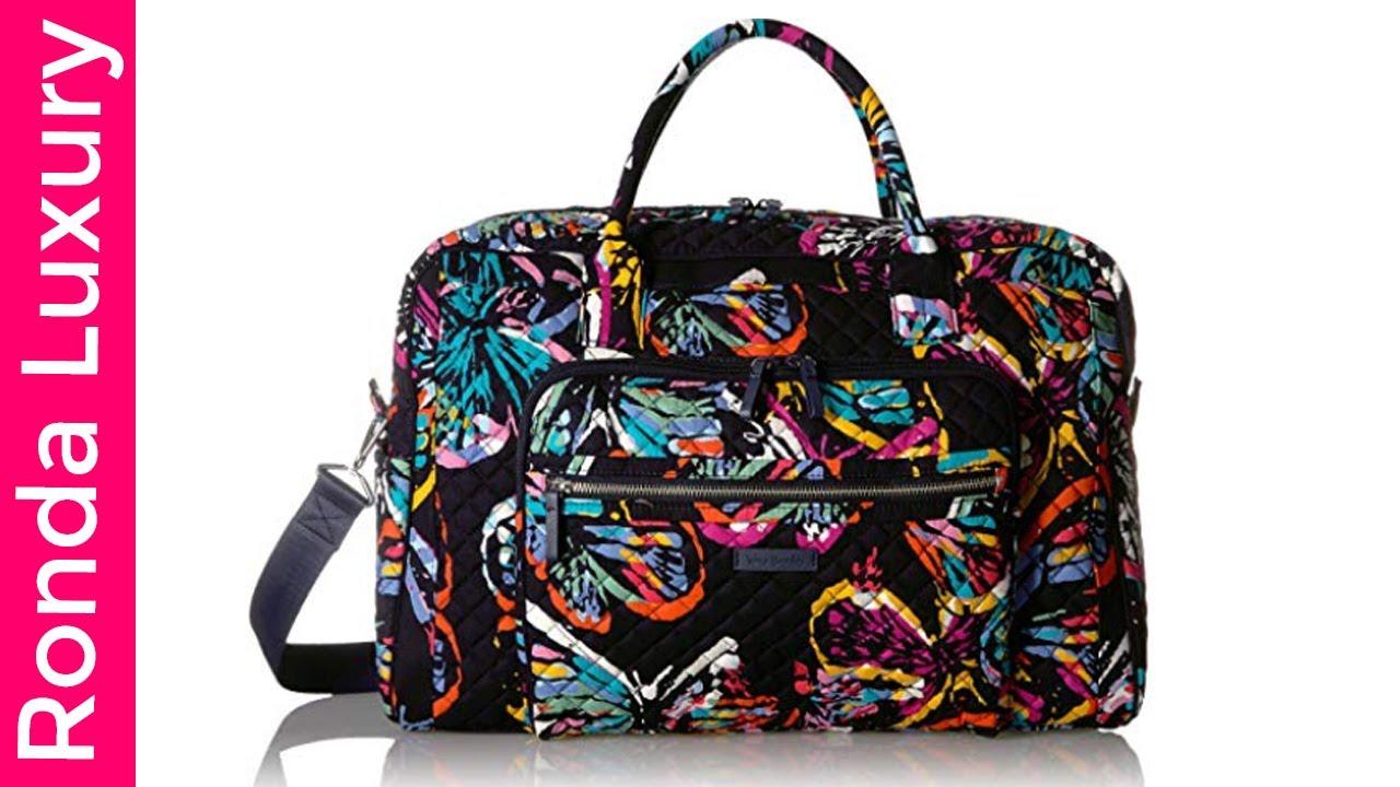 Vera Bradley Iconic Weekender Travel Bag. Ronda Luxury 284a134510865
