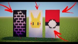 Como Fazer Bandeiras Personalizadas No Minecraft 1.12