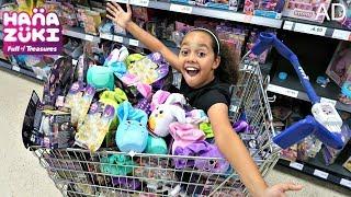 HANAZUKI Toy Hunt Challenge! Toys AndMe Meet And Greet Family Fun - Surprise Toys Opening