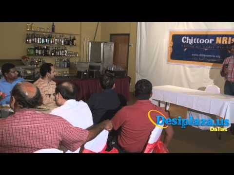 Felicitation of Dr. Medasani Mohan by chittoornris...