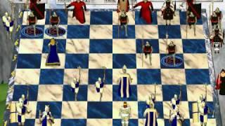 Chess Wars - DOS Longplay - Part 005 - Menu and Gameplay (at Beginner AI)